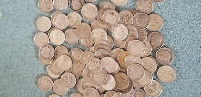 Lot of 10 - Random picked 90% silver dimes - 10c - Readable dates