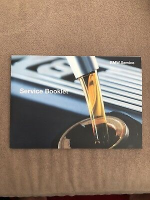 Brand New Bmw Service History Book Maintenance Booklet Record