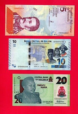 Banknotes World - All New Issued 2018 - Multi Listing - All Mint Unc