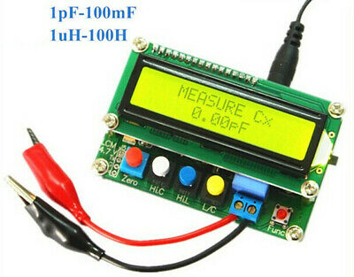 New Digital LC100-A LCD High Precision Inductance Capacitance L/C Meter Tester