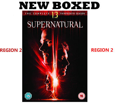 Supernatural Season 13 DVD 2018 New Region 2 Same Day Dispatch Fast Delivery
