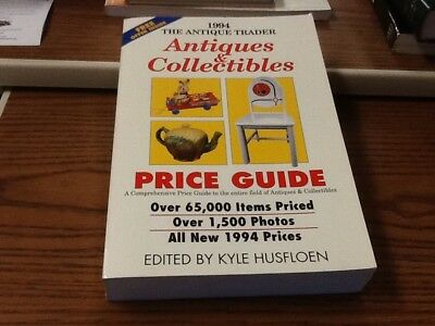 1994 ANTIQUE TRADER Antiques & Collectibles Price Guide