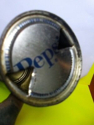 Vintage Pepsi Cola Pop Can    RARE Anchorage  Alaska Opened Flat Top read!