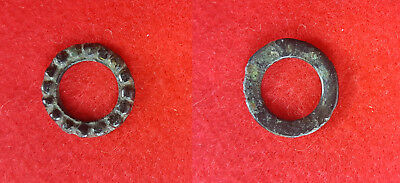 Z38:  Ancient Celtic Bronze Proto Money Piece , Top Condition
