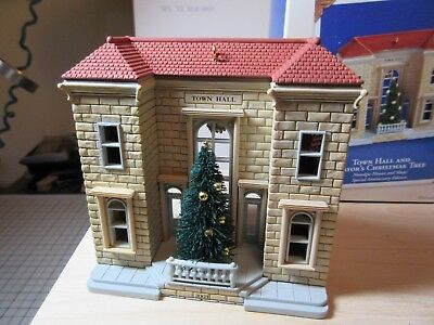 Hallmark Nostalgic Houses and Shops Town Hall Anniversary Edition from 2003