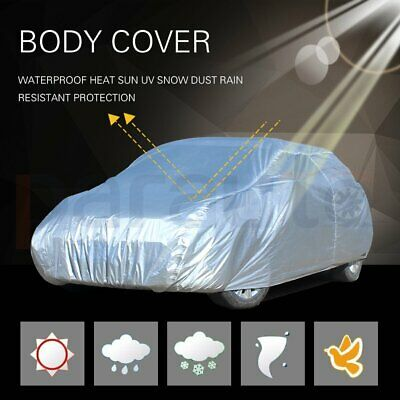 1PC New Truck Cover Protective Polyester Silver Grey  Universal Durable