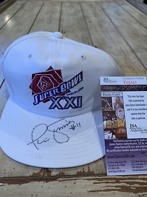 Phil Simms Autographed Signed Hat JSA COA New York Giants Super Bowl XXI b1406c17f