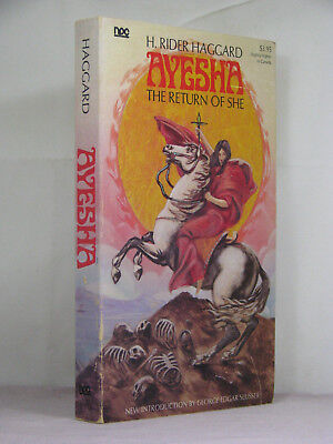 signed by 2(pub,intro),Ayesha :The Return of She by H Rider Haggard(1977) NFF 14