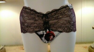 5cf77a7821a NWT 22 24 LANE Bryant Cacique Satin Second Skin Sheerware Lace Thong ...