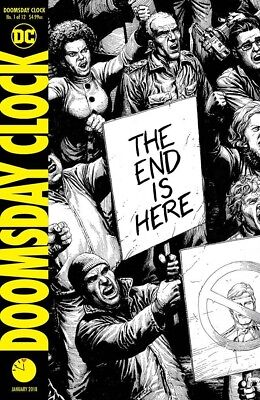 Doomsday Clock #1 (Of 12) 2Nd Ptg Watchmen Dc Comics Near Mint