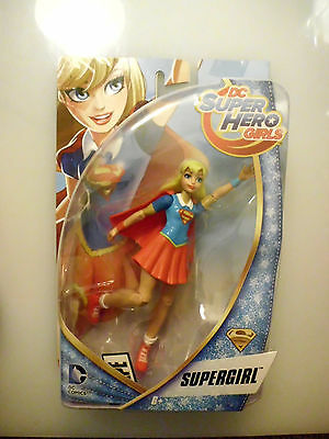 "DC Super Hero Girls SUPERGIRL 6"" Action Figure - NIB"