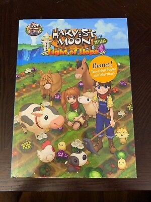 Harvest Moon Light Of Hope Special Edition Collectors Edition Guide Book