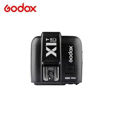 Godox 2.4GHz  Wireless Camera Flash Transmitter Trigger X1T-C For Canon EOS