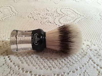 Two Shaving Brushes Omega Made In Italy Pura Setola