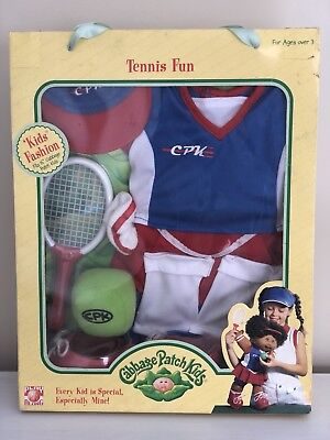 Cabbage Patch Kids CPK Tennis Fun Outfit and Accessories 2004 Play Along