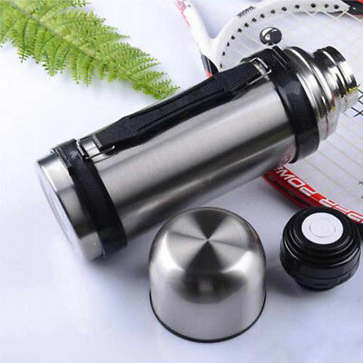 46OZ Vacuum Stainless Steel Insulated Coffee Soup Camping Bottle thermos 1500ML