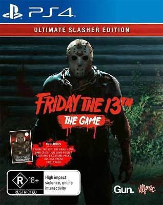 Friday the 13th Ultimate Slasher Edition - Playstation 4 (PS4) Brand New