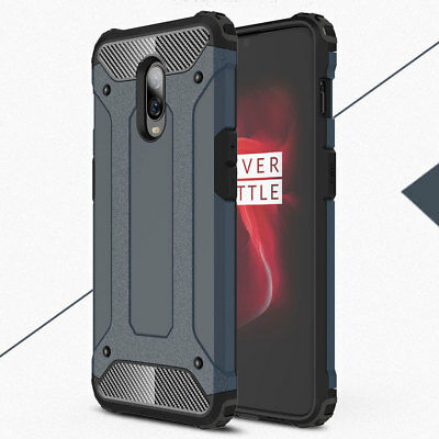 Ultra Slim Shockproof Hard Bumper Hybrid Armor Case Cover for One Plus 3 5T 6 6T