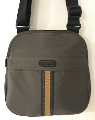 e94d720744 BAGGALLINI NEW!!! HOBO TOTE ORANGE NWT Crossbody Cargo Purse Zipper ...