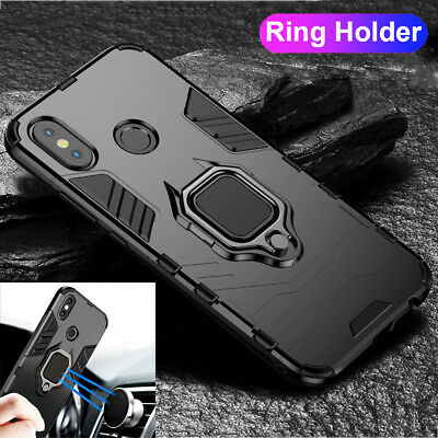 Magnetic Ring Holder Hybrid Armor Case Cover for Xiaomi Redmi Note 6 5 Pro/5Plus