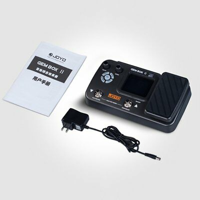 Electric Guitar Effect Machine Guitar Instrument Music Tool With Pedal Gembox IO