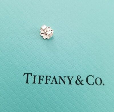 1 New Tiffany Co Sterling Silver Push Back Earring Erfly Replacement