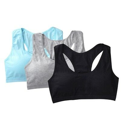 cd0df041109 Girls Kids Bra Pure Young Teenager Underwear Sports Cotton Students Puberty  Bra