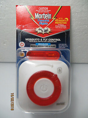 """Mortein Mossie/Fly Control """"Peaceful Nights"""" 45 nights Protection..Limited Stock"""