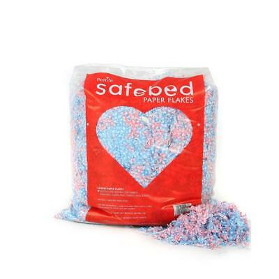 Petlife Safebed PAPER FLAKES Small Animal Rodent Shredded Nesting Nest Bedding