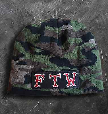 """Hells Angels Support 81 Beanie Mütze camouflage """"FTW"""" FUCK THE WORLD"""