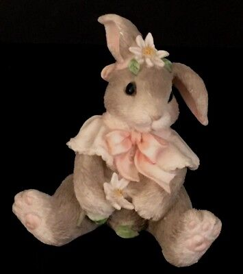 """Loves Me Loves Me Not"" Collectible Bunny Figurine"