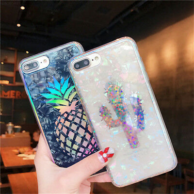 For iPhone XS Max XR X 8 7 6S Case Pattern Cute Soft TPU Phone Case Cover Gift