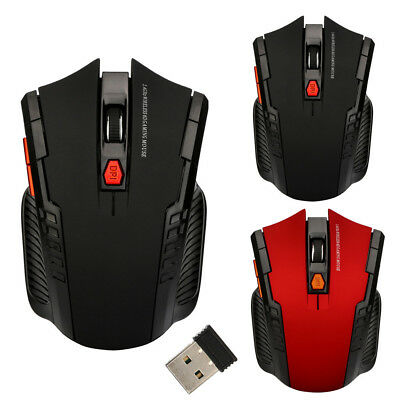 2.4Ghz Mini Wireless Optical Gaming Mouse Mice& USB Receiver For PC Laptop US