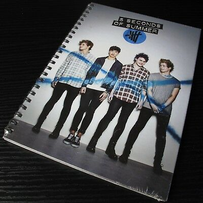 5 Seconds Of Summer: Self Titled 2014 Fanzine Deluxe Edition CD Sealed NEW #0308