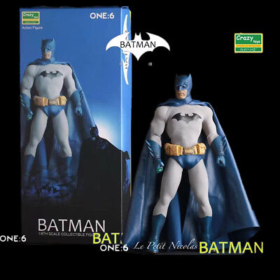 Crazy Toys DC Comics Batman Blu Version 1/6 Classico personaggio statua