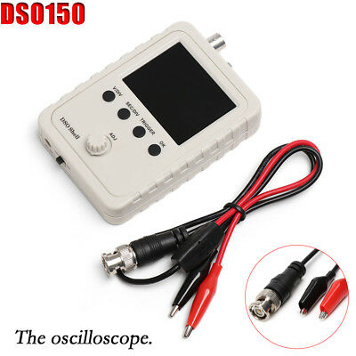 Assembled DSO150 2.4 inch LCD Display Digital Oscilloscope with Probe Adjustable