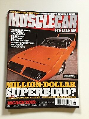 Muscle Car Review back Issues, new-old-stock, October, November 2015+ March 2016