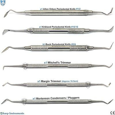 MITCHELL'S TRIMMER PERIODONTAL Orban Krikland Buck Knives Dental  Instruments CE
