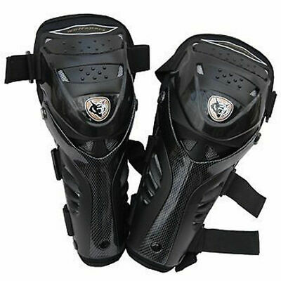 Wulfsport Cub Junior Hinged Knee Pad Protector Body Armour Mx Motocross Pitbike