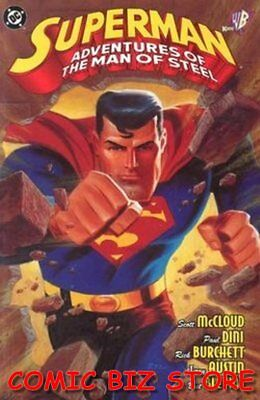 Superman: Adventures Of The Man Of Steel #1 (1998) 1St Print Bag & Boarded Dc