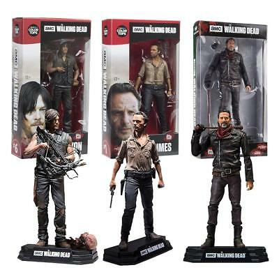 The Walking Dead Action Figure Season 7 Daryl Negan Rick Boxed Toy Gift Decor