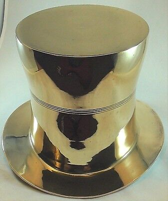 Silver plate Top Hat Ice Bucket Champagne Cooler