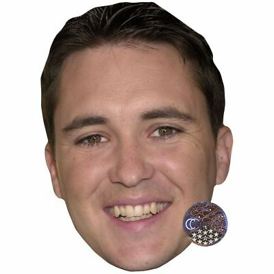 Wil Wheaton (Young) Maske aus Pappe