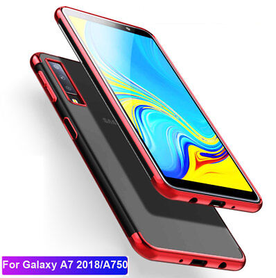 For Samsung Galaxy A7 2018/A750 J4 J6 Plus Ultra Slim Shockproof TPU Case Cover