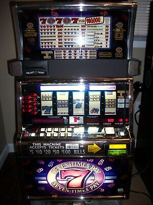 Igts2000 Seven Times Pay 5-Reel Slot Machine