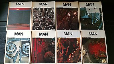 MAN-In Dramatic, Poetic, Fictional, Expository Mode (8 books) 1970 FREE SHIPPING