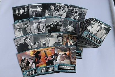 James Bond THE QUOTABLE JAMES BOND FULL SET OF BASE TRADING CARDS 2004