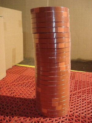 "Tesa 4287 Strapping Tape 1/2"" Orange Tensilized High Performance 24 Rolls  NEW"