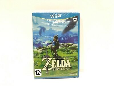 The Legend of Zelda: Breath of the Wild Nintendo Wii U PAL BRAND NEW SEALED