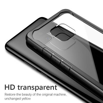 For Huawei Mate 20 Pro Lite Hybrid Shockproof Soft Bumper Slim Clear Case Cover